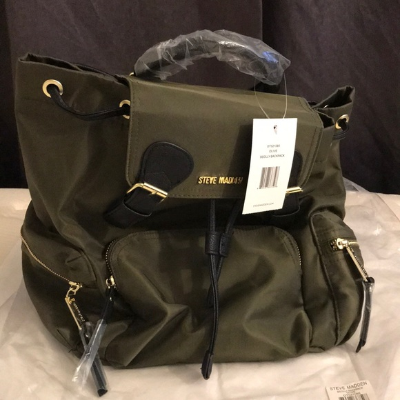 f9039c04b460d7 🖤Steve Madden BSOLLY Backpack (Olive) - NWT🖤
